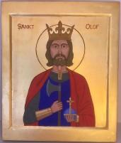 Sankt Olof (21 x 25 cm)